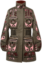 Holly Fulton Cathy Fur Lined Coat