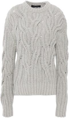 Cédric Charlier Cable-knit Alpaca-blend Sweater
