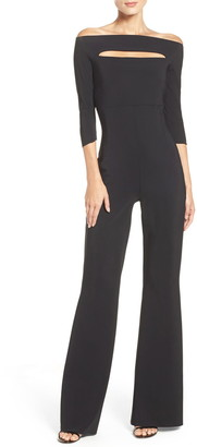 Chiara Boni Katiuscia Off the Shoulder Jumpsuit