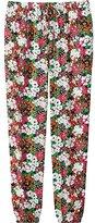 Uniqlo Women's Draped Multi Flower Print Pants