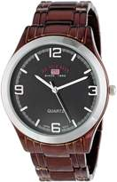 U.S. Polo Assn. Men's Dial Spray Plated Bracelet Watch US8451