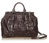 Miu Miu Pre-owned: Vitello Lux Shopper.