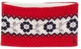Petit Bateau Girls Jacquard knit snood