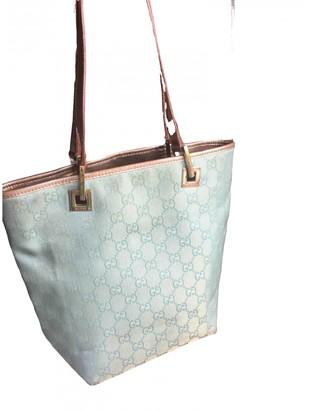 Gucci Turquoise Cloth Handbags
