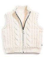Tommy Hilfiger Little Girl's Reversible Fur Sweater Vest