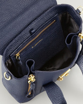 3.1 Phillip Lim Mini Pashli Leather Satchel, Navy