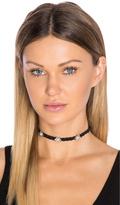 Rebecca Minkoff Braided Leather Choker