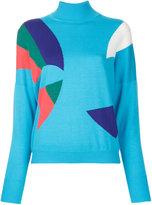 DELPOZO block colour sweater