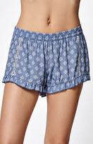 rhythm Valencia Ruffled Soft Shorts