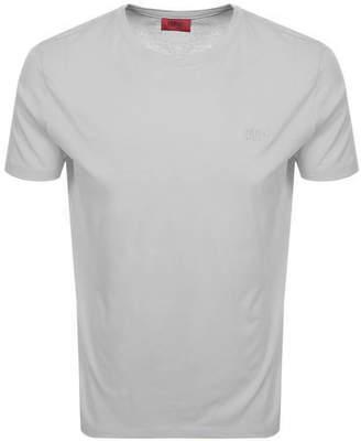 HUGO Dero 193 T Shirt Grey