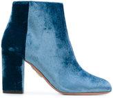 Aquazzura Brooklyn boots - women - Silk/Cotton/Leather/Viscose - 36