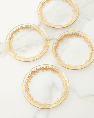 Neiman Marcus Oro Bello Bread Plates, Set of 4