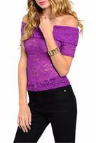 Sweet Claire Vintage Lace Top