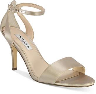 Nina Venetia Ankle-Strap Evening Sandals Women Shoes