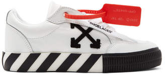 Off-White White Arrow Low Vulcanized Sneakers