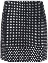 David Koma studded mini skirt