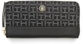 Tommy Hilfiger Monorgram Zip Around Wallet