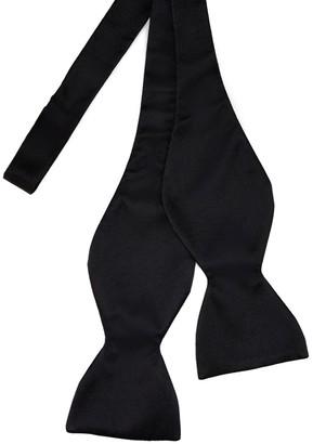 Michelsons Silk Satin Self Tie Bow Tie