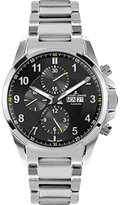 Jacques Lemans Men's 1-1750D Liverpool Automatic Analog Display Swiss Automatic Silver Watch