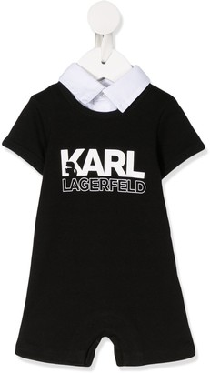 Karl Lagerfeld Paris Printed Shirt Shorty