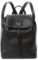 Prada Leather Backpack