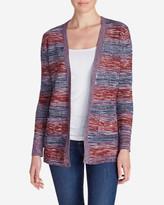 Eddie Bauer Women's Boyfriend Marled Cardigan Sweater