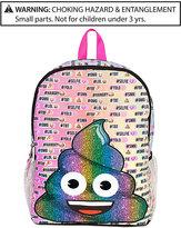 Fab Rainbow Emoji Backpack, Little Girls (2-6X) and Big Girls (7-16)