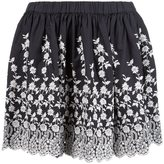 Ulla Johnson scalloped printed skirt
