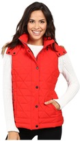 "Andrew Marc Thea 25"" Pyramid Puffer Vest"