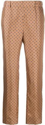 Alberto Biani Polka Dot Print Trousers