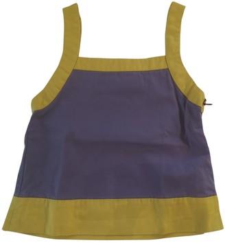 Marni Purple Cotton Tops