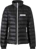 Burberry lightweight logo detail puffer jacket