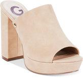 G by Guess Blayke Platform Slide Sandals Women's Shoes