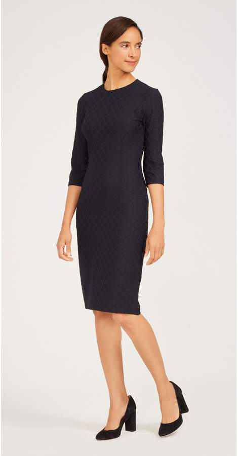J.Mclaughlin Catalyst Dress in Palm Springs Jacquard