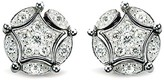 Effy Jewelry Effy DiVersa Sterling Silver Diamond Earrings, 0.17 TCW