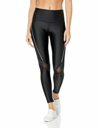 Andrew Marc Women's 7/8th Length Compression Legging with Mesh