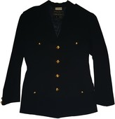 Donna Karan Navy Wool Jacket for Women