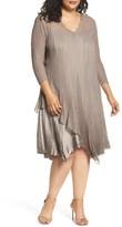 Komarov Plus Size Women's Tiered Dress