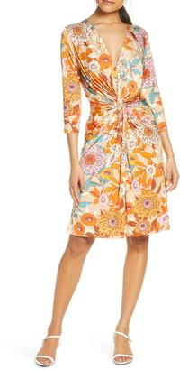 Ilse Jacobsen Floral Twist Jersey Dress