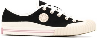 Acne Studios Lace-Up Low-Top Sneakers