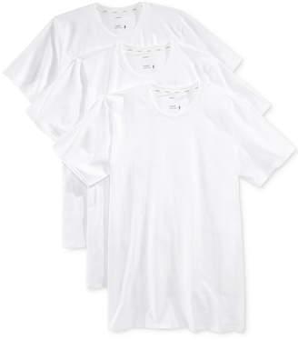 Jockey Men 3 Pack Essential Fit Staycool + Cotton Crew Neck Undershirts