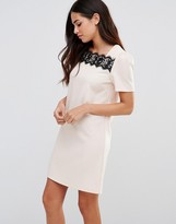Paper Dolls Lace Trim Tunic Dress