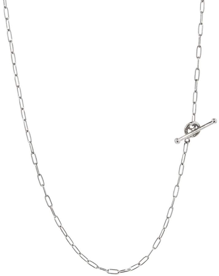 Cathy Waterman 16 Inch Fine Spanish Chain Necklace - Platinum