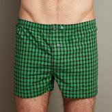 Blade + Blue Kelly Green & Black Check Boxer Short - Prince