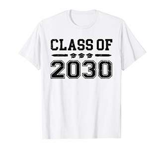 with me. Class Of 2030 Graduation Grow Back School Gifts T-Shirt
