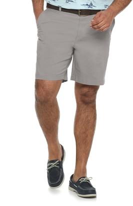 Croft & Barrow Big & Tall Utility Flat-Front Shorts