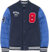 Tommy Hilfiger Bi-material Teddy jacket