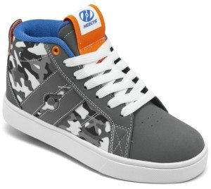 Heelys Little Boys Racer Mid Wheeled Skate Casual Sneakers from Finish Line