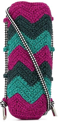 M Missoni Zig-Zag Panel Crossbody Bag