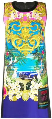 Versace Baroque Beach Dress